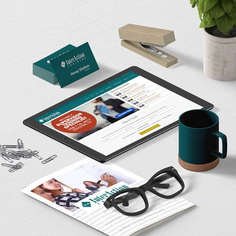 InterAction Training Responsive eCommerce Website